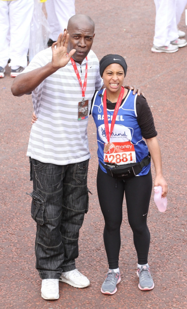 London Marathon Participants Dress Up for the Race 41048