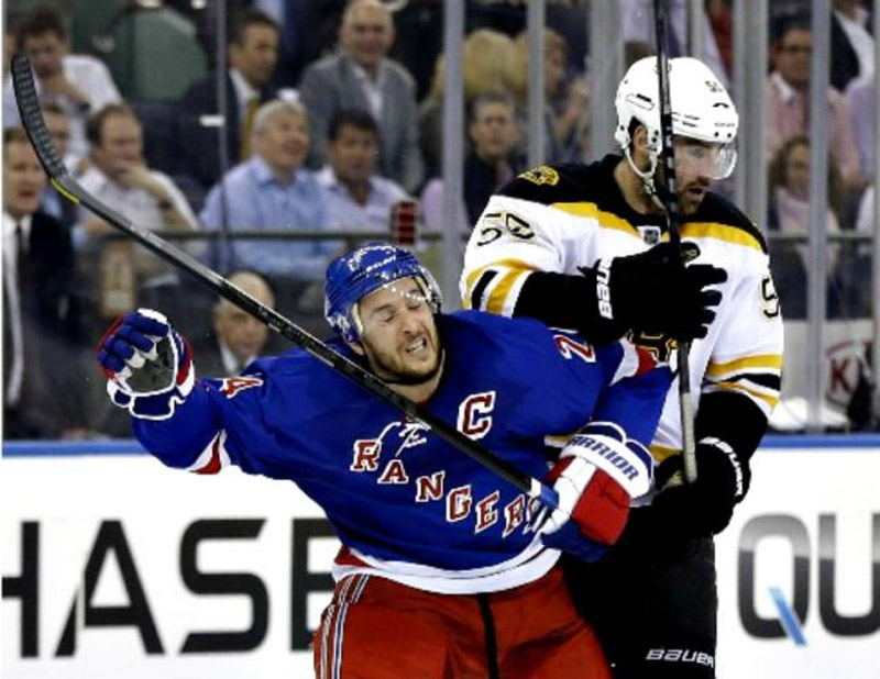 Rangers focus on first step, winning Game 4 against Bruins to remain alive 41265