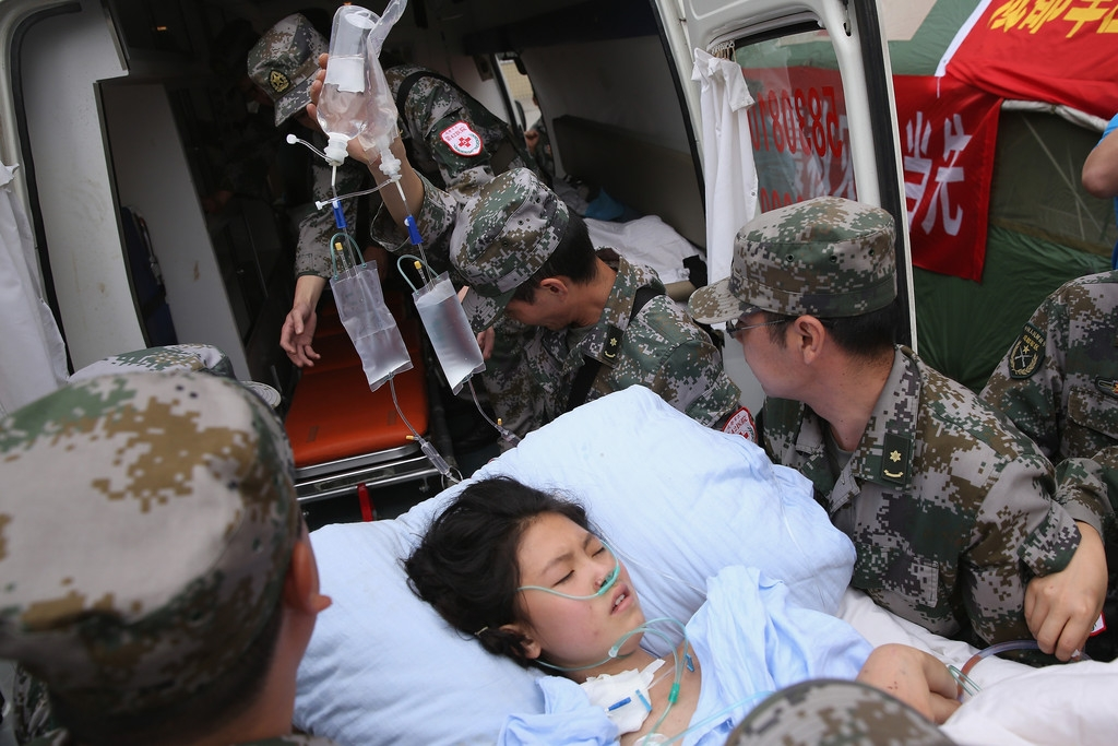 Strong Earthquake Hits Sichuan Province 41289