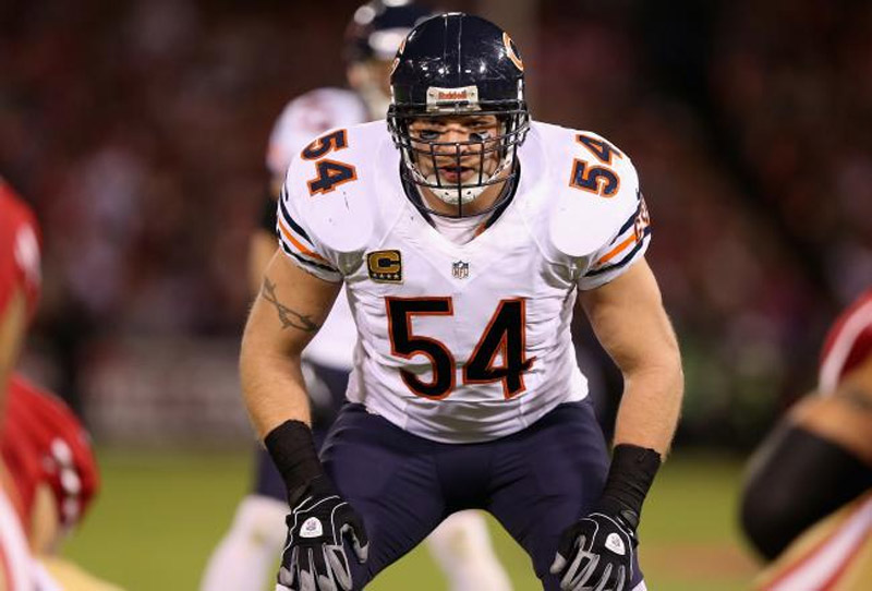 NFL Brian Urlacher went out on Wednesday, after announcing his retirement via his official Twitter page. 41291