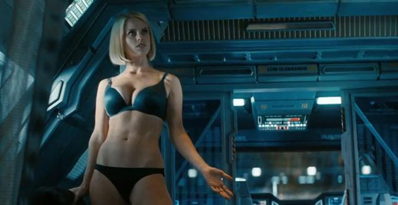"""Star Trek Into Darkness' screenwriter Damon Lindelof regrets' for not 'Alice Eve scene underwear 41299"