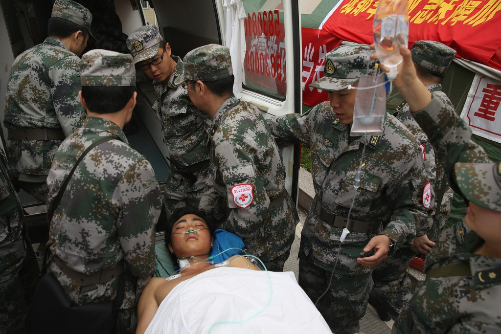 Strong Earthquake Hits Sichuan Province 41306