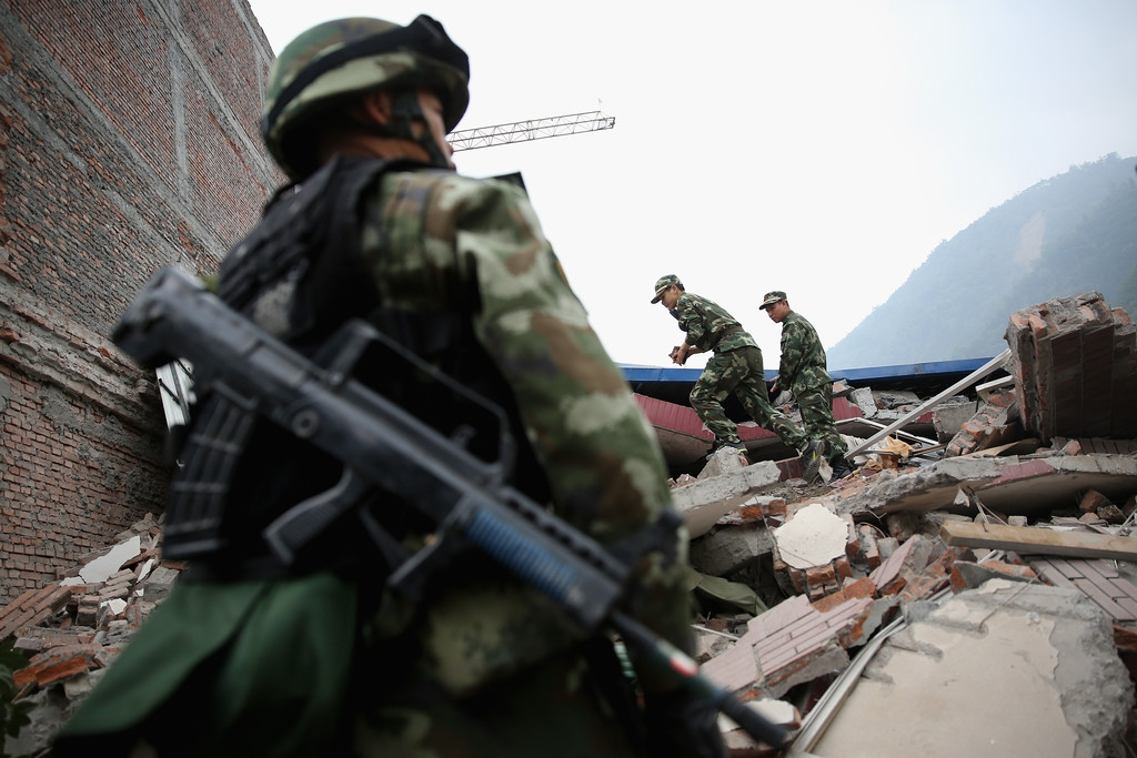 Strong Earthquake Hits Sichuan Province 41379