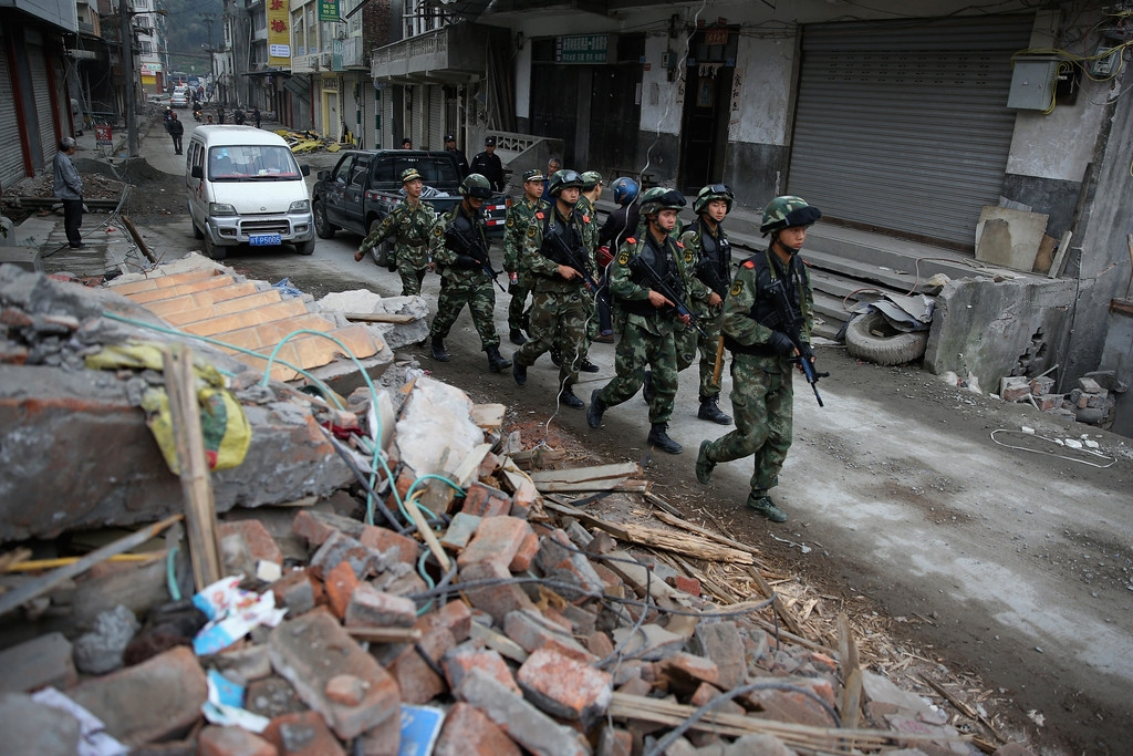 Strong Earthquake Hits Sichuan Province 41383