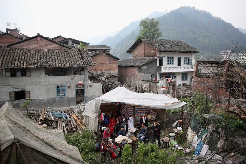 Strong Earthquake Hits Sichuan Province 41394