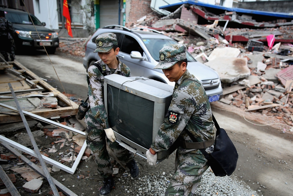 Strong Earthquake Hits Sichuan Province 41428