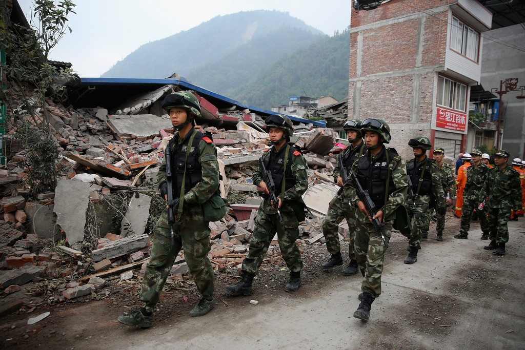 Strong Earthquake Hits Sichuan Province 41431