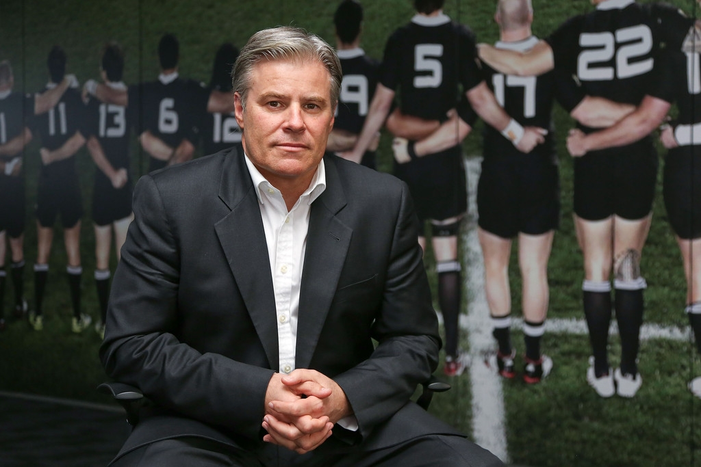 Brett Gosper Meets With NZRU 41687