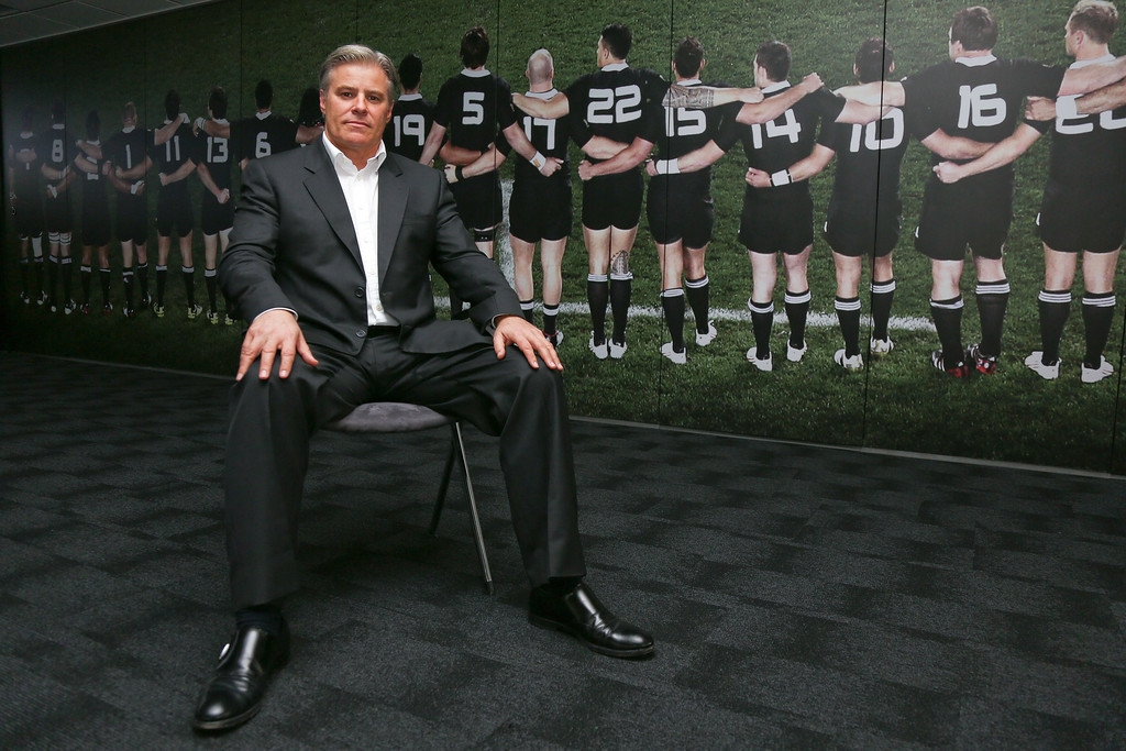Brett Gosper Meets With NZRU 41701