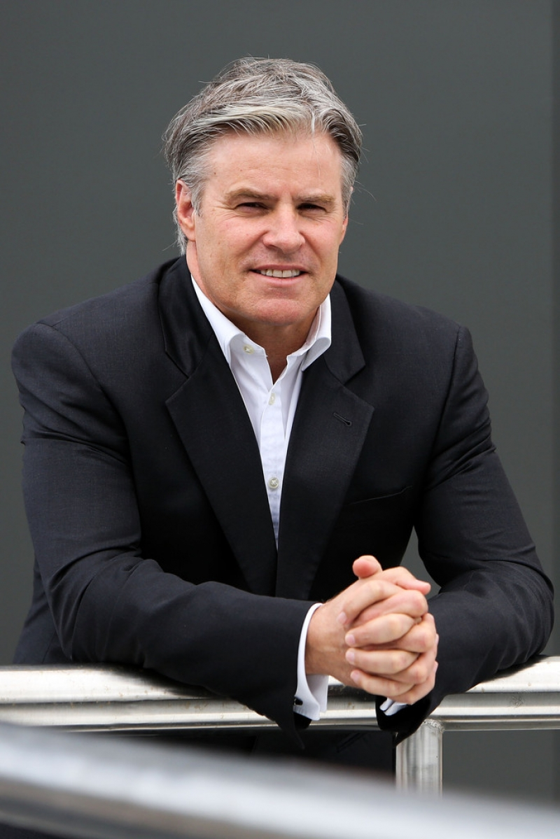 Brett Gosper Meets With NZRU 41710