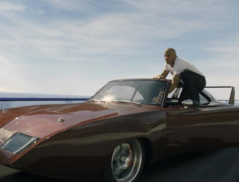 Vin Diesel is back in gear as Dom in 'Fast & Furious 6. 41711