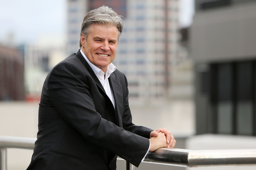 Brett Gosper Meets With NZRU 41726