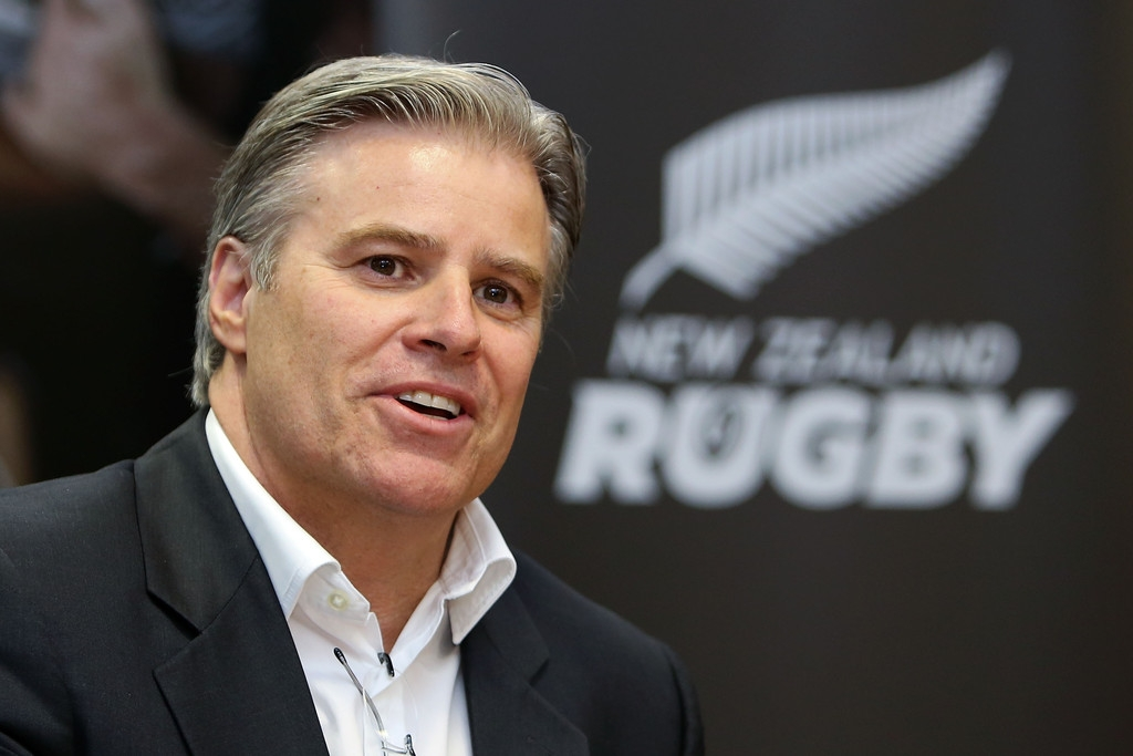 Brett Gosper Meets With NZRU 41739