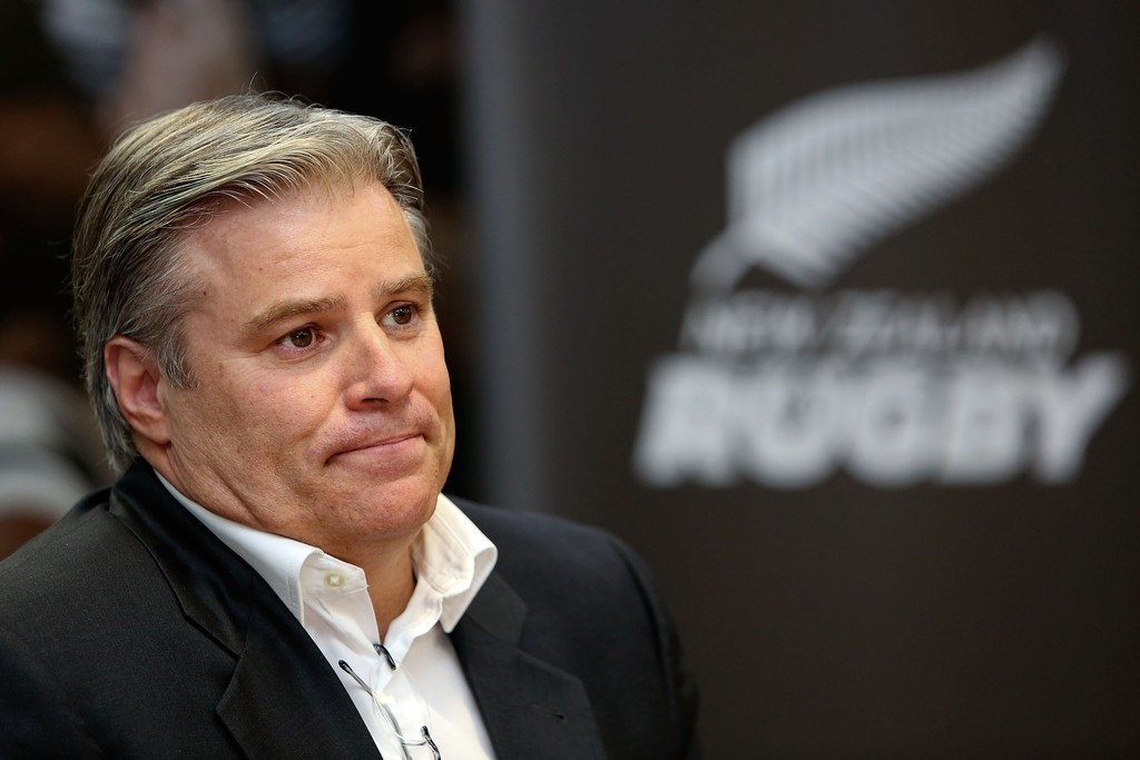 Brett Gosper Meets With NZRU 41747