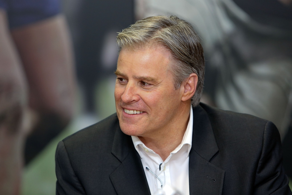 Brett Gosper Meets With NZRU 41753