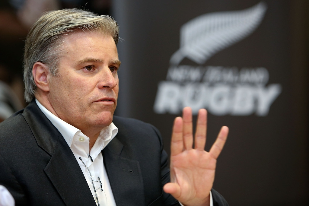 Brett Gosper Meets With NZRU 41760
