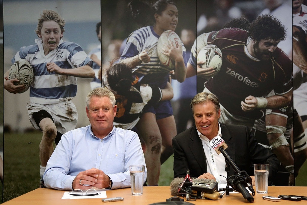 Brett Gosper Meets With NZRU 41767