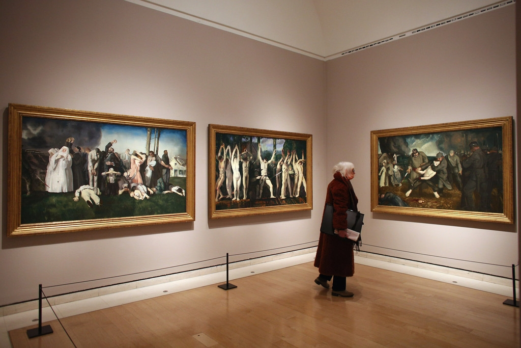 The Royal Academy Of Arts Celebrates George Bellows 42014