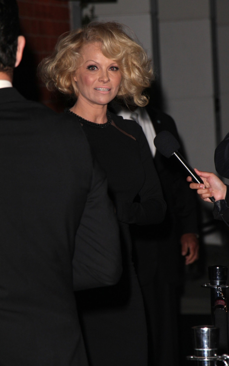 Pamela Anderson Enjoys a Night Out in NYC 42230