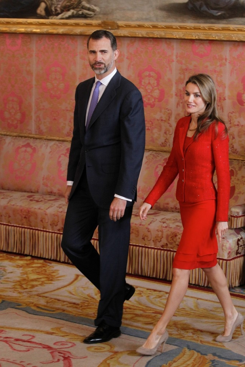 Spanish Royals Host Cervantes Awards Lunch 42245