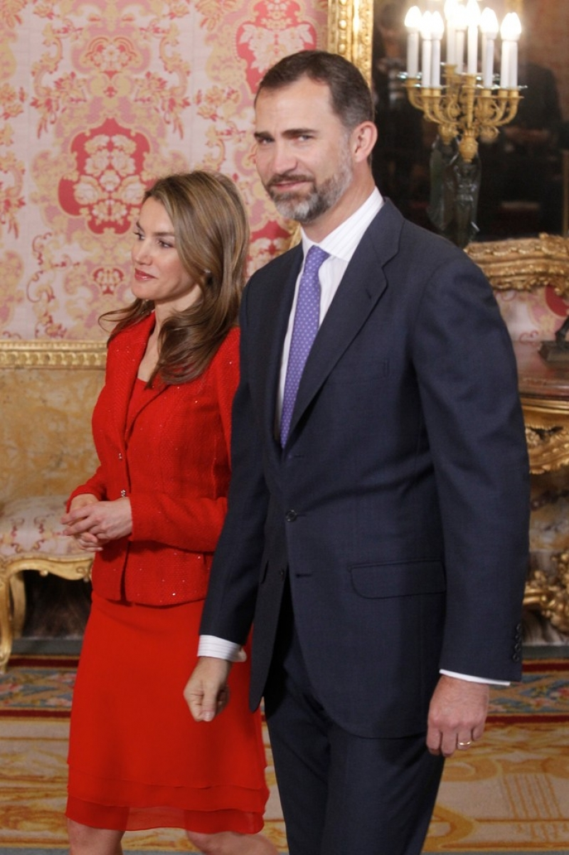 Spanish Royals Host Cervantes Awards Lunch 42250