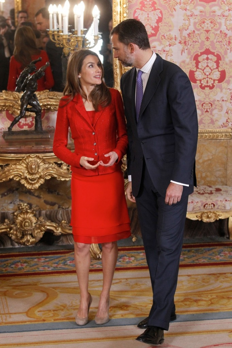 Spanish Royals Host Cervantes Awards Lunch 42272