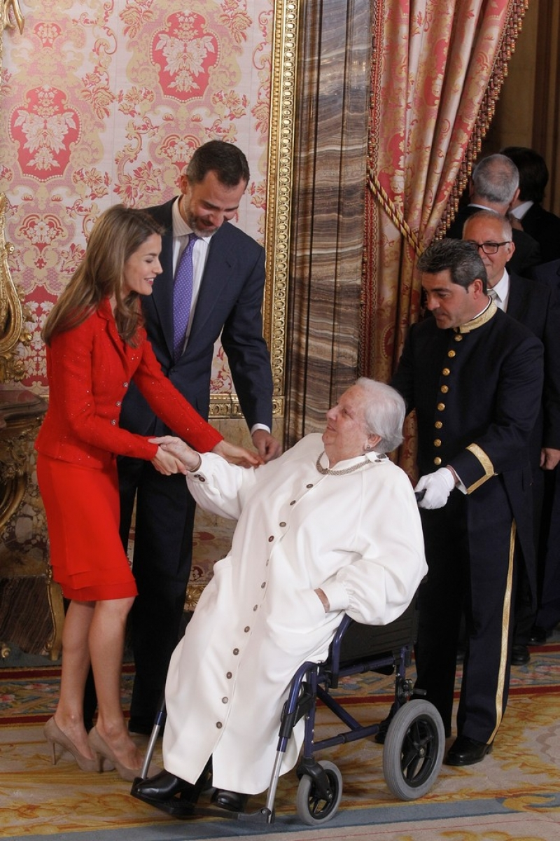 Spanish Royals Host Cervantes Awards Lunch 42275