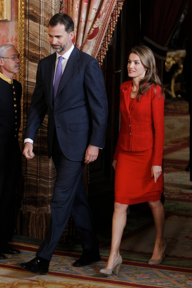 Spanish Royals Host Cervantes Awards Lunch 42283