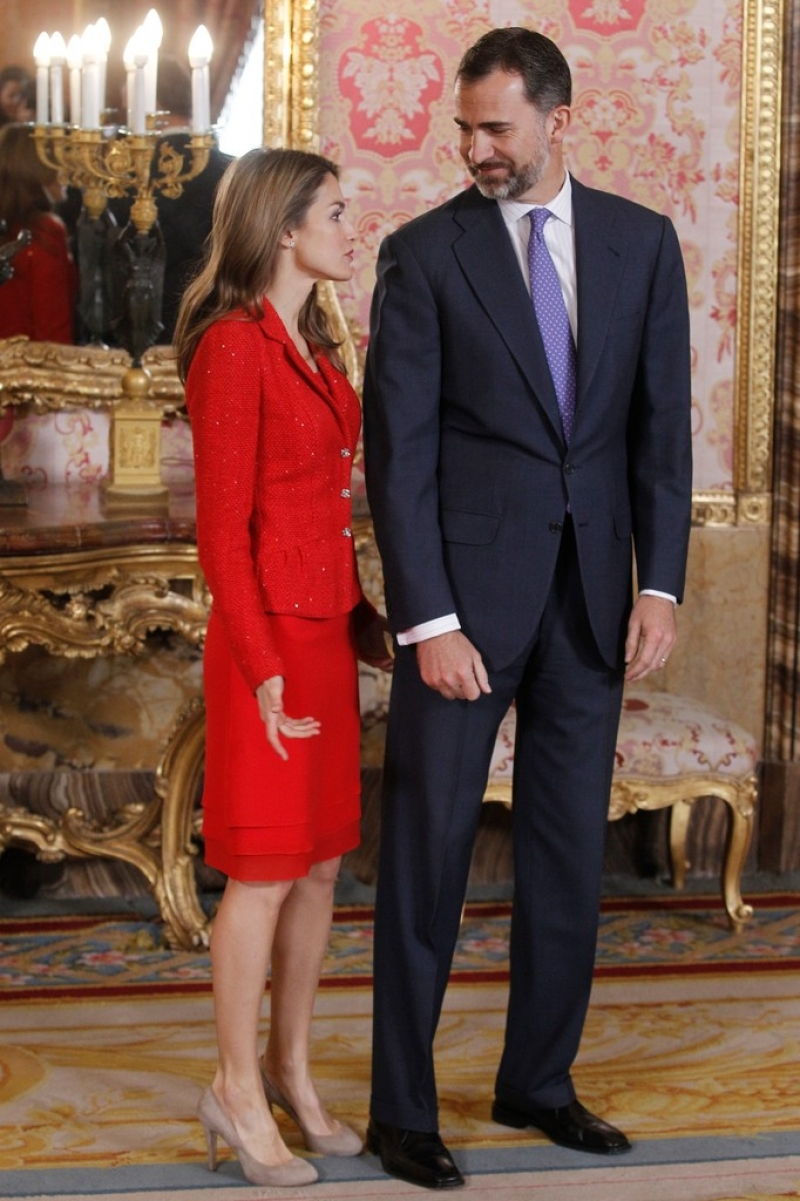Spanish Royals Host Cervantes Awards Lunch 42288