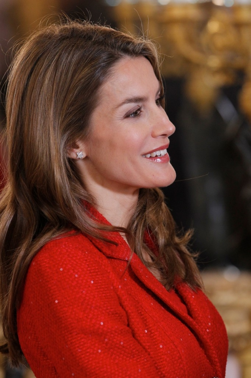 Spanish Royals Host Cervantes Awards Lunch 42289