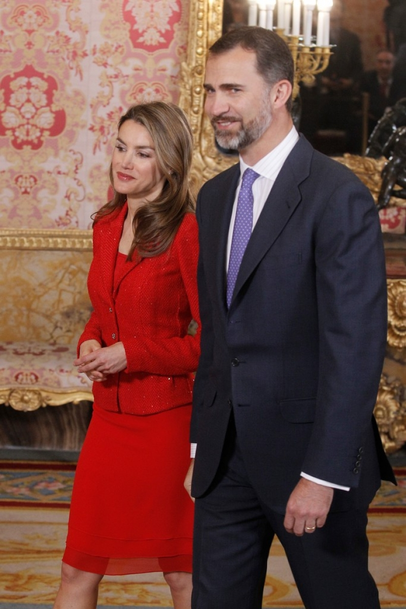 Spanish Royals Host Cervantes Awards Lunch 42296
