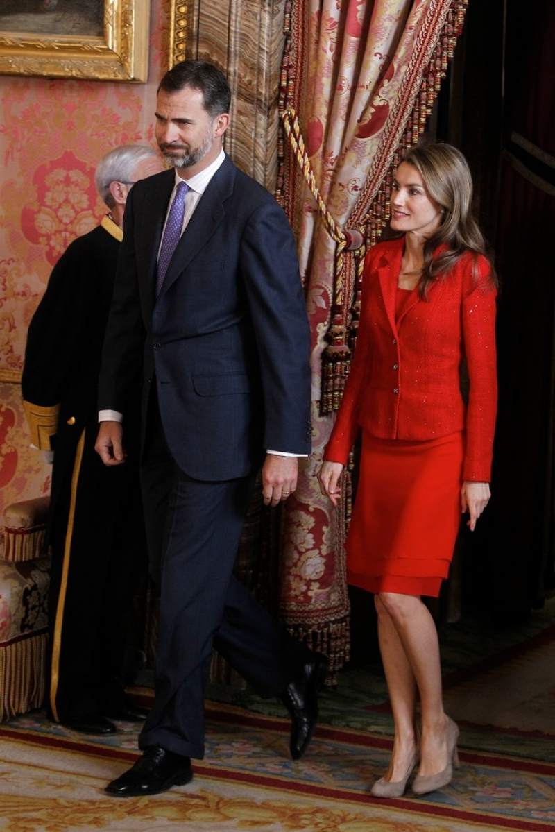 Spanish Royals Host Cervantes Awards Lunch 42301