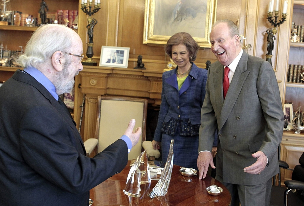 Spanish Royals Host Cervantes Awards Lunch 42319