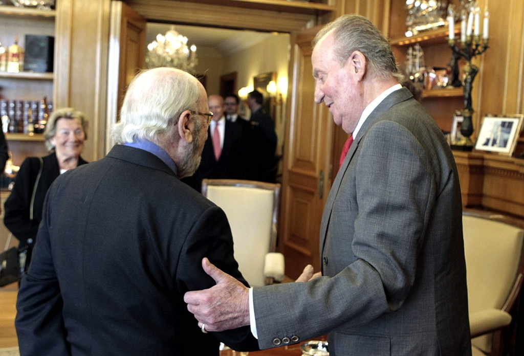 Spanish Royals Host Cervantes Awards Lunch 42347
