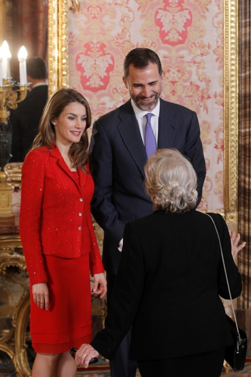 Spanish Royals Host Cervantes Awards Lunch 42356