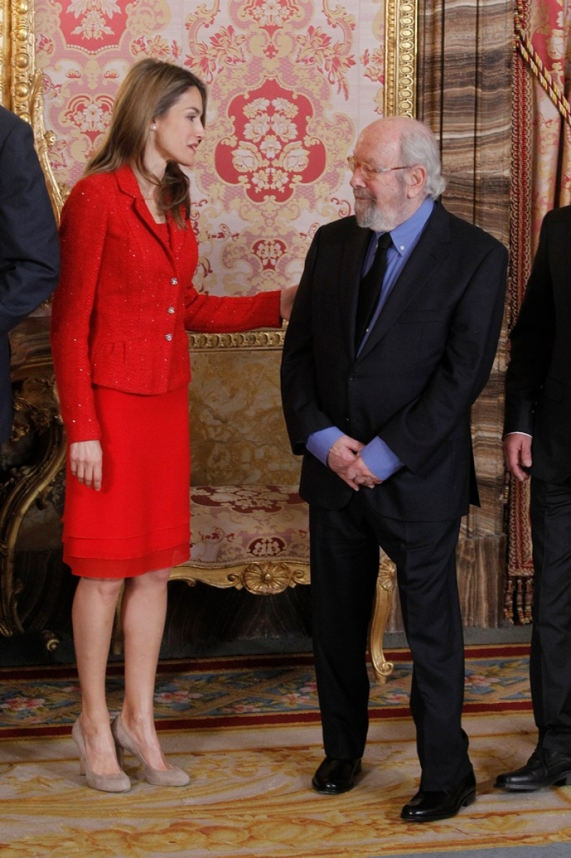 Spanish Royals Host Cervantes Awards Lunch 42360