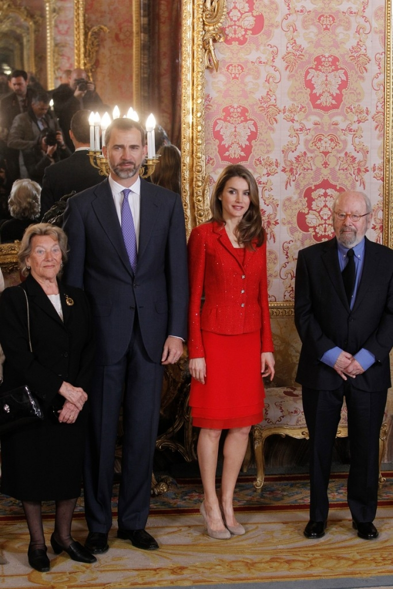 Spanish Royals Host Cervantes Awards Lunch 42385
