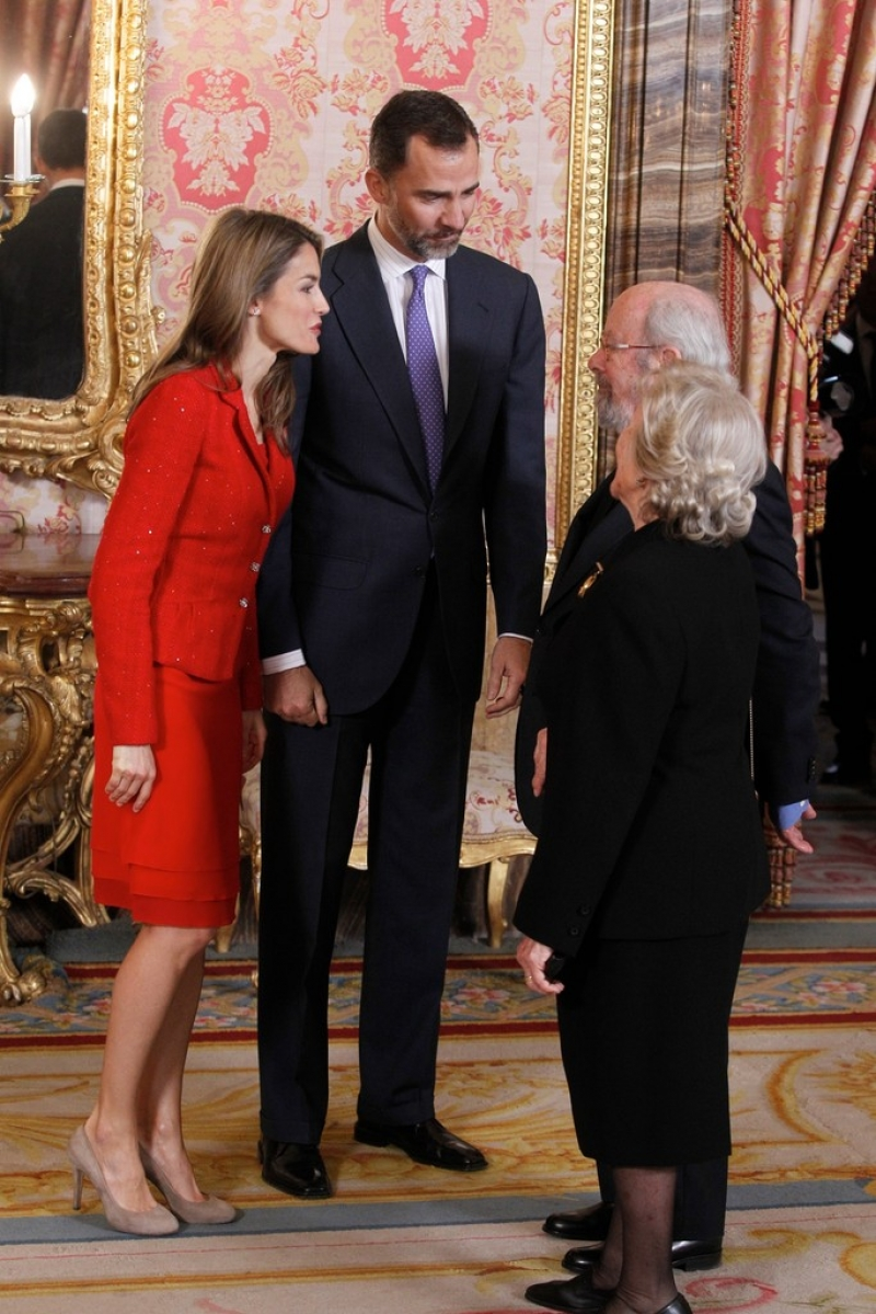 Spanish Royals Host Cervantes Awards Lunch 42405