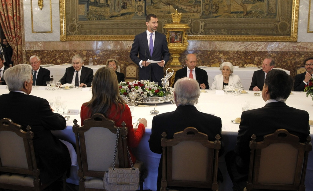 Spanish Royals Host Cervantes Awards Lunch 42444