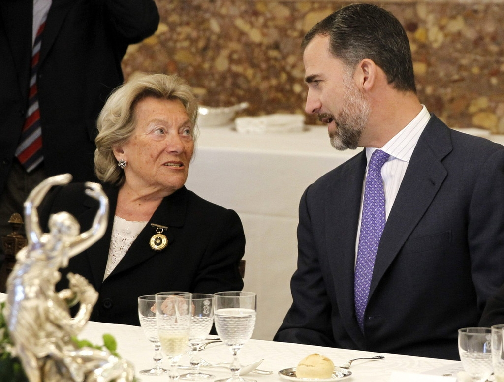 Spanish Royals Host Cervantes Awards Lunch 42449