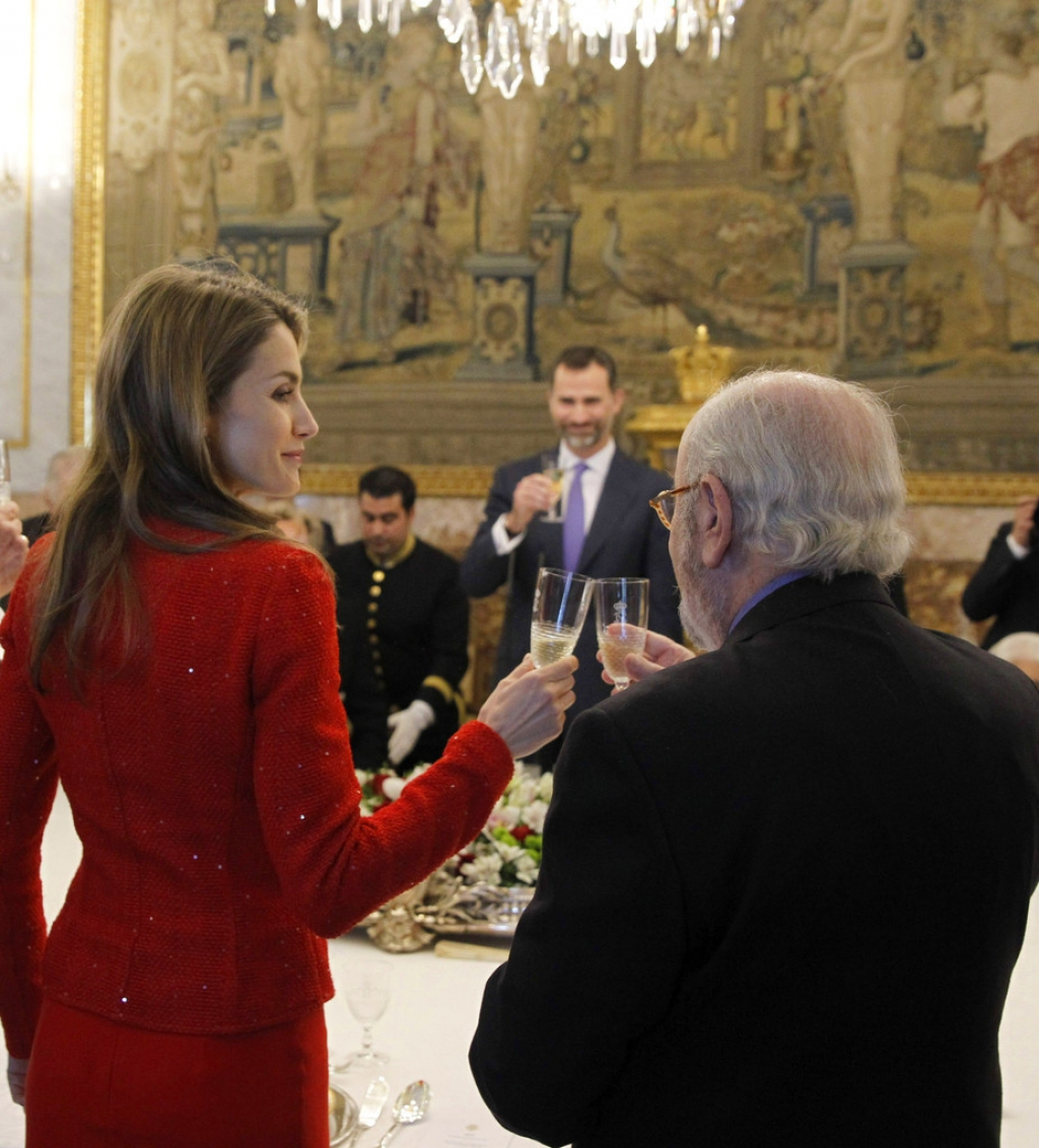 Spanish Royals Host Cervantes Awards Lunch 42450