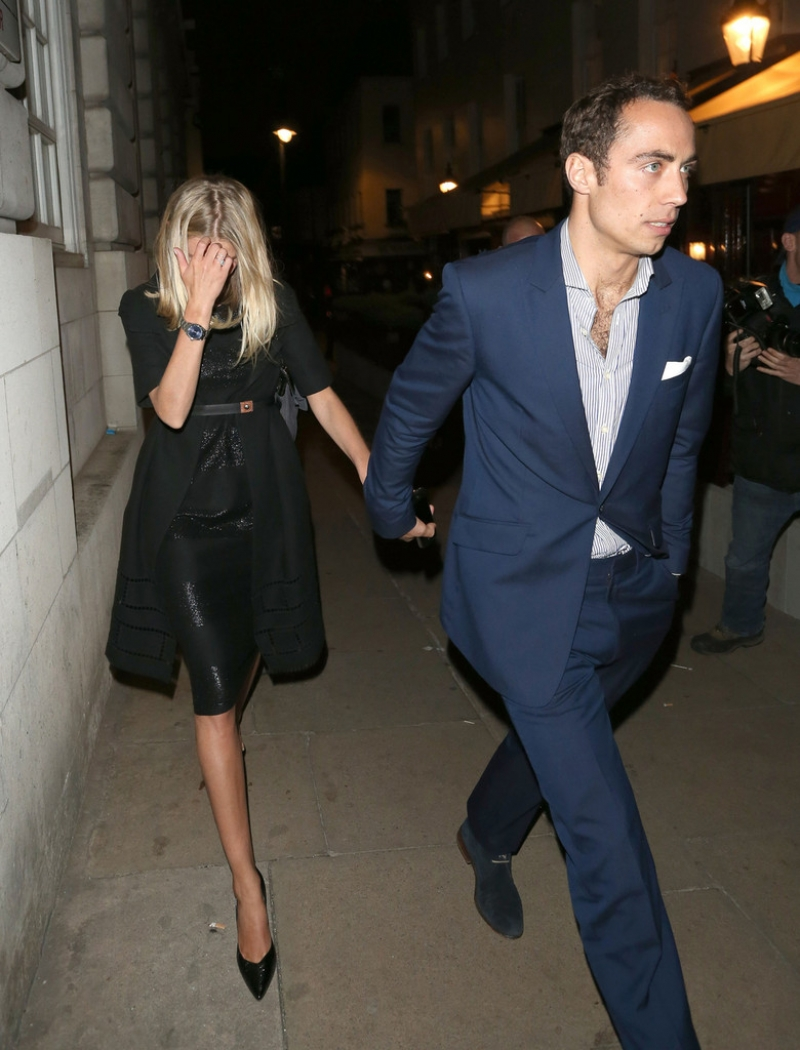Celebs Leave Loulou's Private Members Club 42480