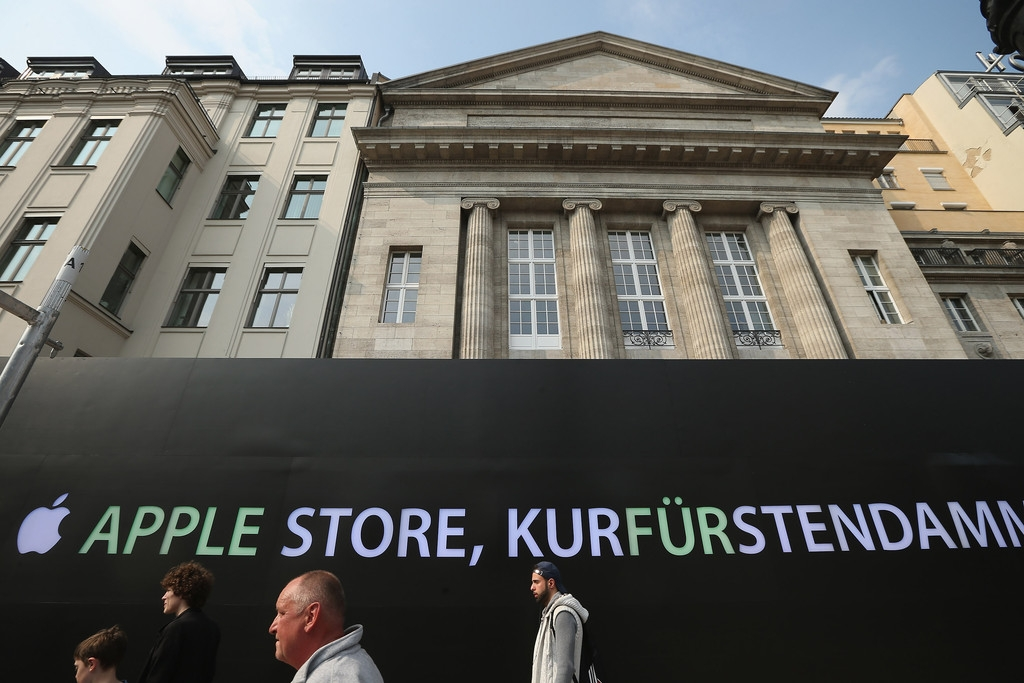 Apple Prepares to Open a Store in Berlin 42555