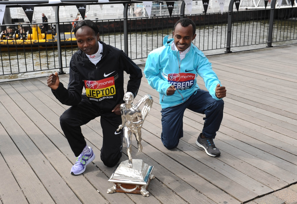 London Marathon Winners Photo Call 2 42687