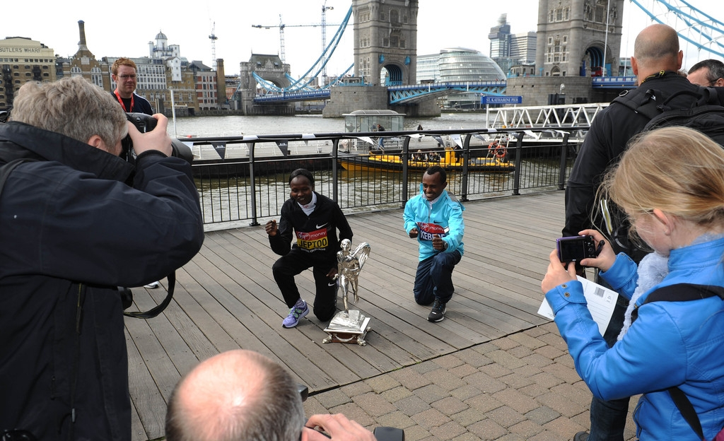 London Marathon Winners Photo Call 2 42689