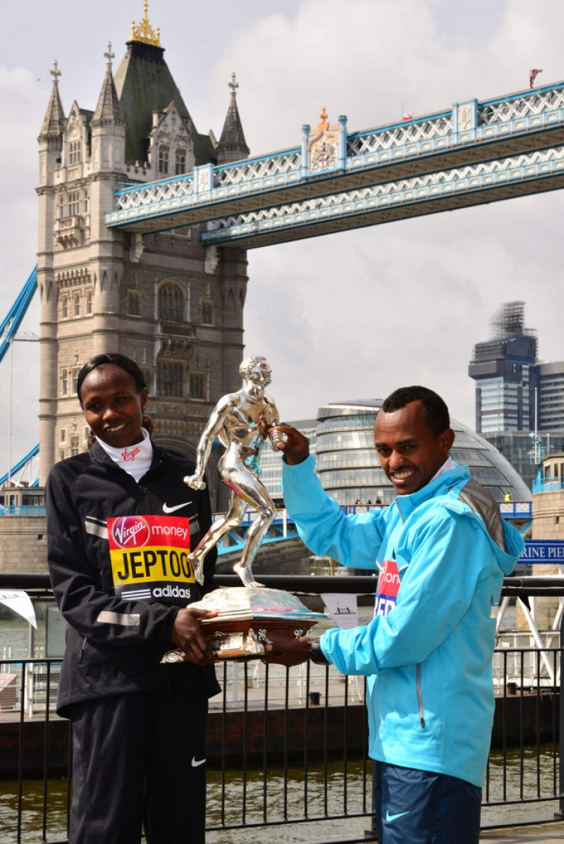 London Marathon Winners Photo Call 42966
