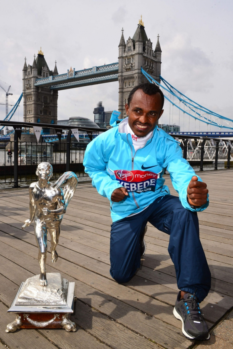 London Marathon Winners Photo Call 42970