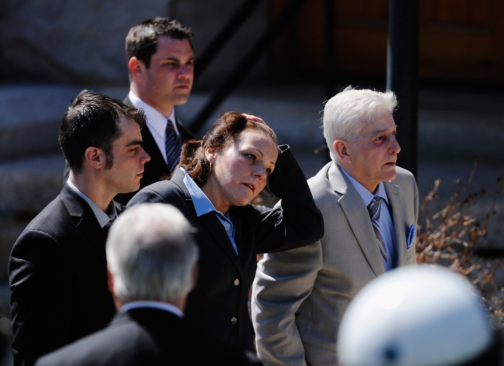 Funeral for Boston Marathon Bombing Victim 43108