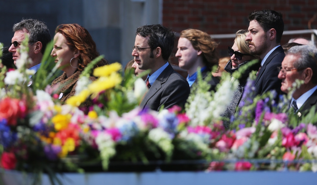 Funeral for Boston Marathon Bombing Victim 43115