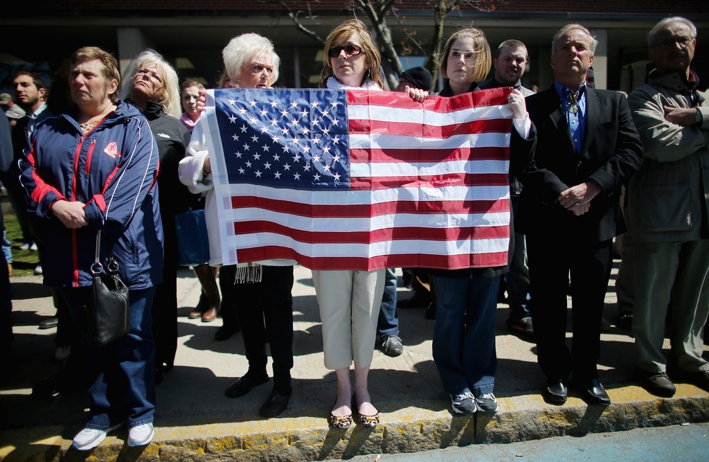 Funeral for Boston Marathon Bombing Victim 43143